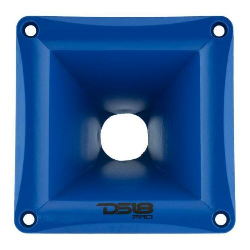 DS18 PRO H44 ABS PVC Plastic Universal Screw on Horn for Drivers Blue