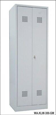 Güde GS 2 Garderobenschrank Metallschrank Kleidungsschrank Schrank