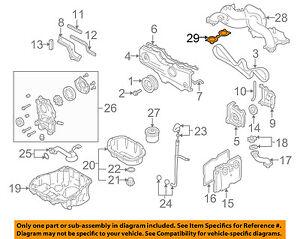 details about subaru oem 10 12 legacy engine intake manifold gasket 14035aa540 Subaru Fuel System Diagram