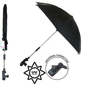 parasol pour poussette en plein air bloquant efficacement les rayons ultraviolets et bloquer la pluie sur les jours de pluie. Parasol pour poussette