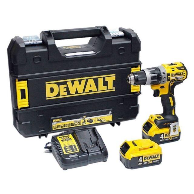 Dewalt DCD796M2 18v Li-Ion XR Brushless Combi Drill DCD796 -  2 4.0ah batteries