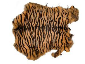 188-P1382 K14 Printed Rabbit Cheetah Pattern Pelt