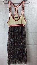 ANTHROPOLOGIE HAZEL Crochet Top Dress Baby Boll Small #B1