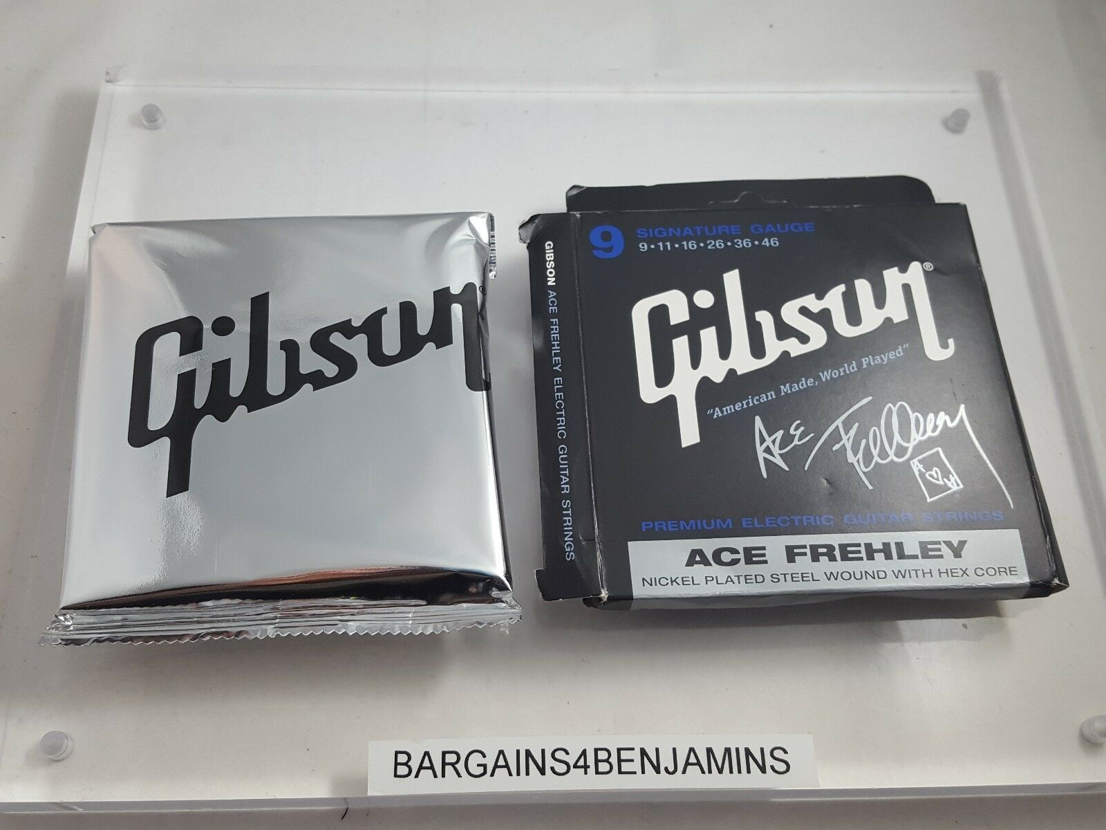 Gibson Gear SEG-AFS Ace Frehley Signature Electric Guitar 9 11 16 26 36 46