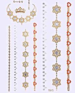 Bijoux de peau -TATTOOS ÉPHÉMÈRES- Royal couleur or,argent.orange - France - État : Neuf: Objet neuf et intact, n'ayant jamais servi, non ouvert, vendu dans son emballage d'origine (lorsqu'il y en a un). L'emballage doit tre le mme que celui de l'objet vendu en magasin, sauf si l'objet a été emballé par le fabricant d - France