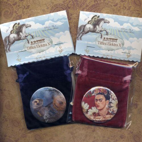 "/""Sight/"" Lady and Unicorn Tapesties Pocket Mirror Tartx"