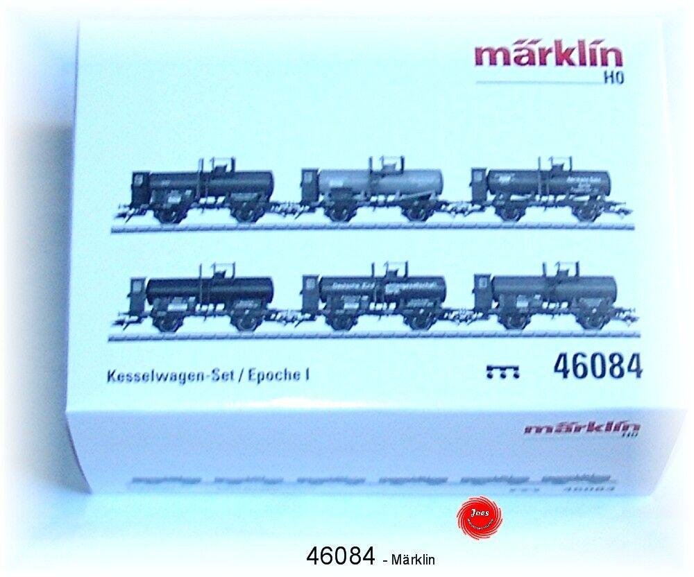 Märklin 46084 Oldtimer-Kesselwagen-Set 6-teilig  NEU in OVP