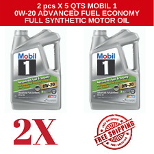 13 Quarts Mobil 1 0w-20 Synthetic Oil for Honda & Toyota