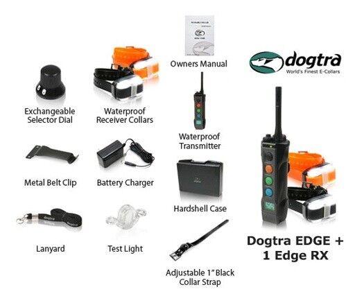 promozioni eccitanti Dogtra EDGE 2 Dog Remote Remote Remote Trainer Training System Waterproof Expandable + GIFT  prima i clienti