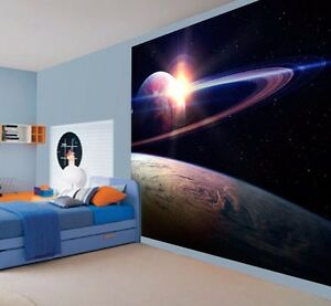 GENIAL-Vista-de-la-SATURN-Papel-Pintado-Pared-Mural-4449792