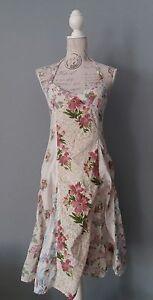 Replay-verano-vestido-vestido-dress-robe-vestido-talla-xs-Boho-Style-cuello-de-cisne