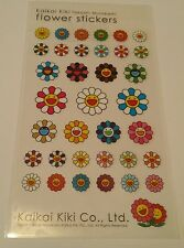TAKASHI MURAKAMI KaiKai Kiki Flower Cute Sticker CUTE Genuine