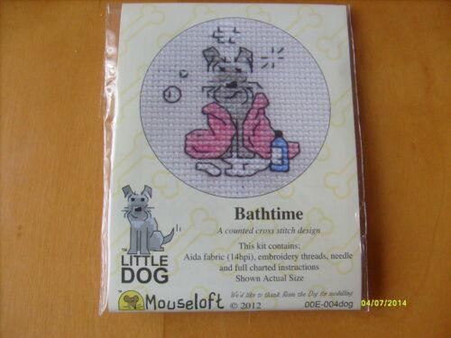 Mouseloft stitchlets LITTLE DOG CROSS STITCH Kits