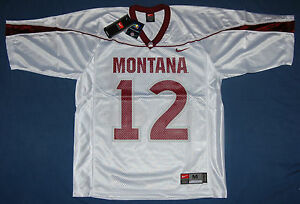 f18c58314 Image is loading NIKE-MONTANA-GRIZZLIES-12-REPLICA-FOOTBALL-JERSEY-WHITE-