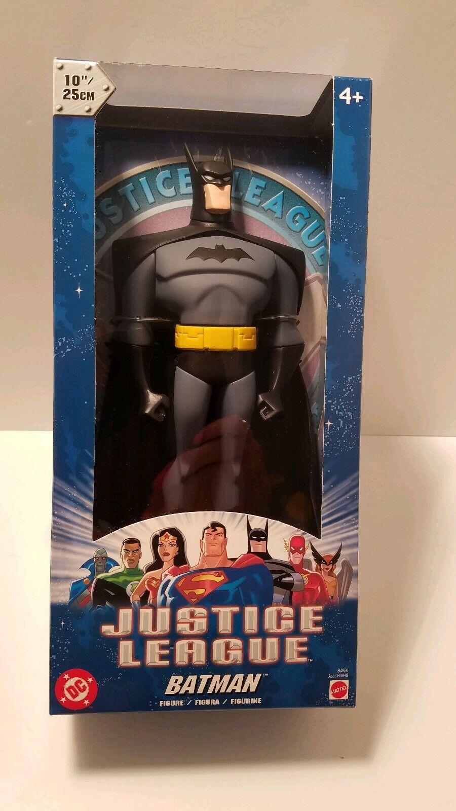 DC Comics Justice League Batuomo 2003 Mattel Warner Brossohers DC Comic10  nuovo