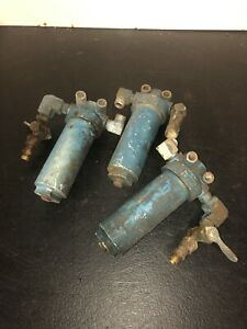 Lot Of (3) Bendix Chris Craft V8 Fuel Water Separator Canister Filters Used    eBayeBay