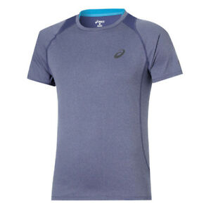 Asics-Mens-Motion-Dry-Running-Fitness-Sports-T-Shirt-Top-129916-8134-EE112