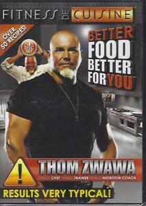 Dvd 3 Disc Fitness De Cuisine Thom Zwana New Cello