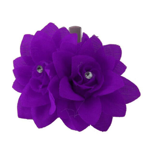 Beautiful Bridal Rose Flower Hairpin Floral Hair Clip for Wedding Party Gift AS