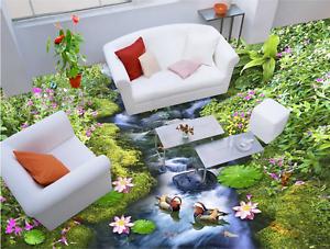 3D Grassland water 253 Floor WallPaper Murals Wall Print Decal 5D AJ WALLPAPER