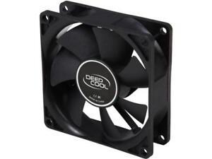 DEEPCOOL XFAN 80 Hydro Bearing Black Fan