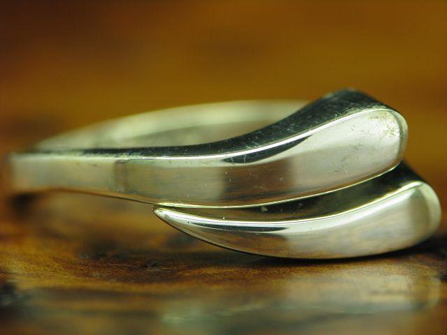 925 STERLING silver RING   ECHTsilver   6,0g   RG 60