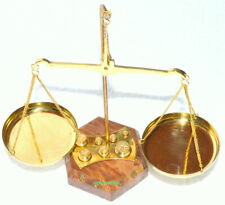 Brass Weighing Scale Balance Tarazu Measure Showpiece homedecor Christmas Gift