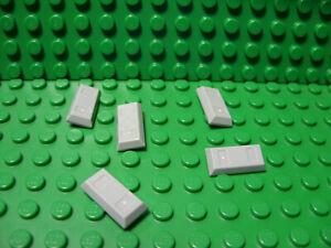 LEGO Parts Light Bluish Gray Minifigure Utensil Handcuffs QTY 5 No 61482