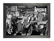 The Specials 5 English 2 Tone SKA Band Quality Poster