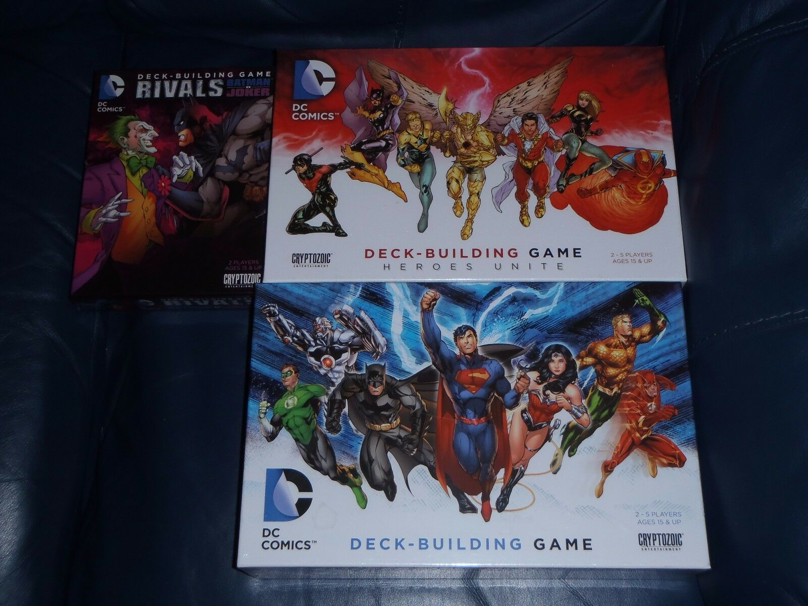 DC serier Board spel Rivals Heroes Unite Expansions  NY SEALD
