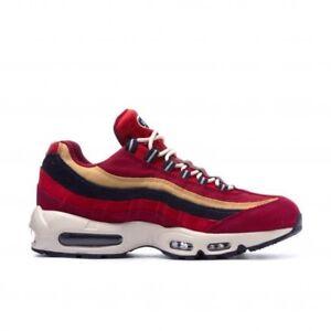 Détails sur Nike Air Max 95 Prm UK 6 EUR 40 rouge Crush/province Violet Blé Or 538416 603- afficher le titre d'origine