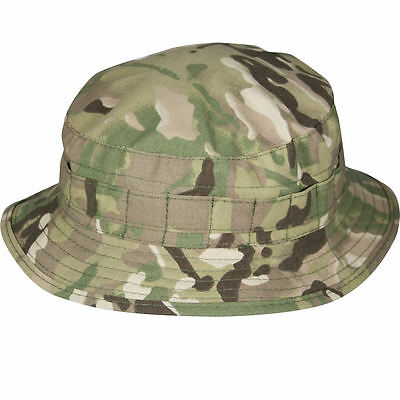 NEW British Army Special Forces Boonie Bush Hat Cap in MTP  Camo Camouflage
