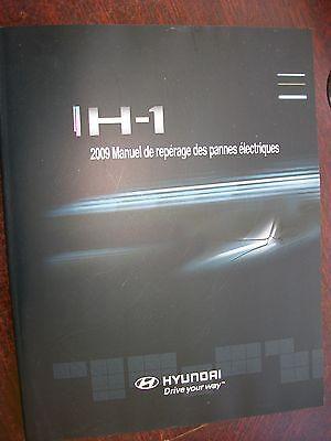 Hyundai H-1 H1 2002 Manuel pannes électriques