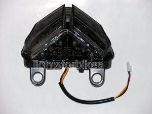 LED-Retro-Faro-Posteriore-Nero-Ducati-Streetfighter-848-1100-Fume-Luce-di-Coda