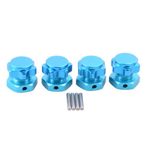 8 Colors RC HSP Alum Wheel Hub Mount Nut 17mm Cover For 1:8 Car Buggy Truck 4pcs