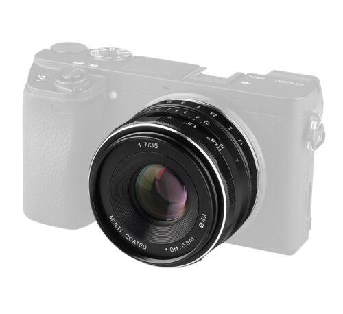 Meike MK-E-35-1.7 Objektiv 35mm F21.7 für Canon EOS M multicoated