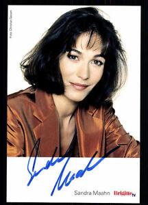 Sandra-Maahn-Autogrammkarte-Original-Signiert-BC-26998