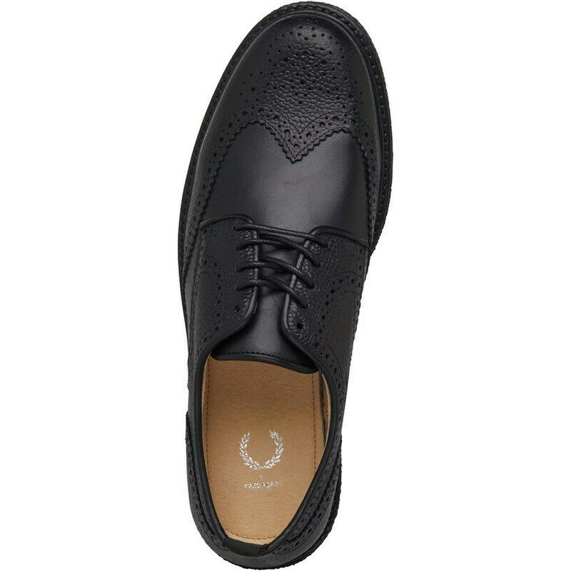 Frouge PERRY chaussures hommes noir tipo Polacchetta