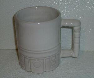 Frankoma-Pottery-Mug-Cup-C4-Mayan-Aztec-Vtg-3-75-034