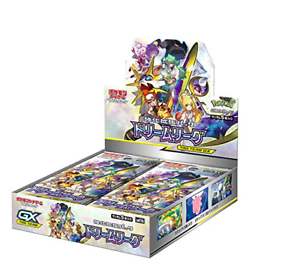 Pokemon-Card-Game-Sun-amp-Moon-Reinforcement-Expansion-Pack-034-Dream-League-034-BOX