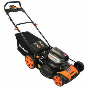 Redback 21 120Volt LithiumIon Cordless Electric Lawn Mower
