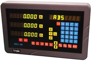 SINPO-3-axis-digital-readout-for-mill-milling-machine-complete-DRO-kit