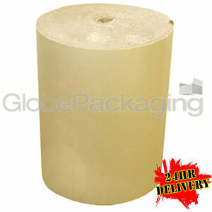 500mm x 75m CORRUGATED CARDBOARD PAPER ROLL 75 METRES - STRONG PACKAGING *24HRS* 5055502386522