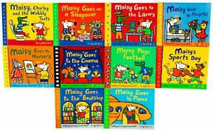 Maisy-First-Experiences-Collection-10-Books-Pack-Set-By-Lucy-Cousins-Maiy-Goes