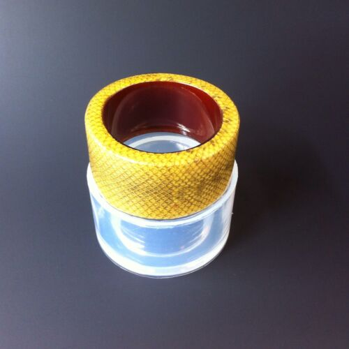 FOR THICK BANGLE BRACELET,RESIN JEWELRY CLEAR SILICONE MOLD, MB052