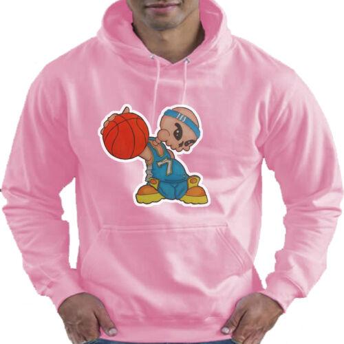 BASKET BAMBINO KIDS Felpa con Cappuccio Felpa Con Cappuccio 12 Colori