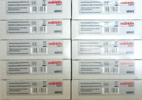 Nachrüst GP Set  NEU OVP 22,50 €//Set Hochleistungsmotor Märklin 10x 60943