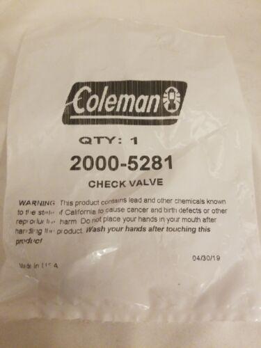 Northstar Coleman Lantern Check Valve