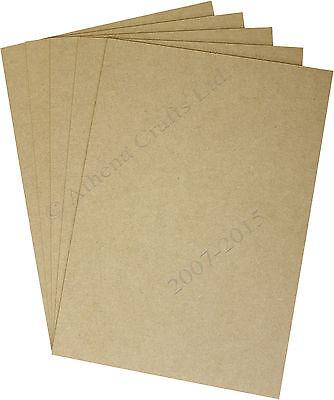 A4 MDF Sheets - Laser Safe - For Crafts, Models & Pyrography