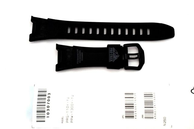 CASIO WATCH BAND: 10307003  BAND FOR PRG110  PRW1300 Resin Band